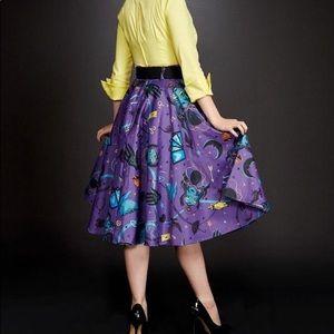 PUG Fortune Teller Full Circle Skirt